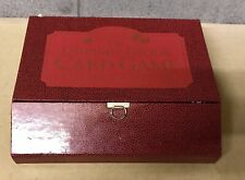VINTAGE ULTIMATE DICE & CARD GAME COMPENDIUM BOX SET COLOUR LIBRARY DIRECT 1997
