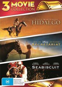 Hidalgo / Seabiscuit / Secretariat DVD
