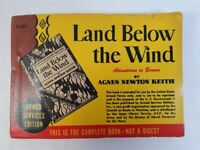 Land Below The Wind Adventures In Borneo (Armed Services Ed.) by Agnes N. Keith