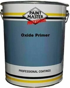Paintmaster Heavy Duty Anti Corrosion Oxide Primer Red - Grey - Wood - Metal !