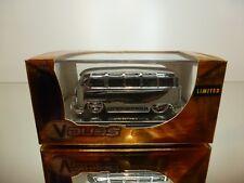 JADA TOYS V DUBS 91237 VOLKSWAGEN T1 BUS 1962  - SILVER 1:64 - UNOPENED BOX