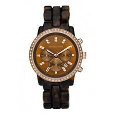 Michael Kors MK5366 Showstopper Tortoise Brown Rose Gold Ladies Watch