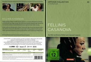 DVD FELLINIS CASANOVA - ARTHAUS COLLECTION - DONALD SUTHERLAND *** NEU ***