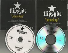 FLIPSYDE Someday RARE CLEAN TRK & OLYIMPICS VIDEO PROMO DJ CD & DVD Single 2006