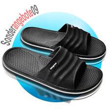 Badelatschen Badeschuhe Badeschlappen Magnus Gr.41-47 Schuhe schwarz Sandale W40