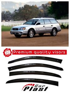 For Subaru Legacy 3 1998-2003 Window Deflectors Visor Vent Rain Wind Guard