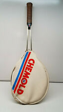 Vintage Chemold Rod Laver Tennis Racquet & Cover 4 5/8 M grand slam