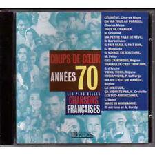 CD Les plus belles chansons francaises coups de coeur années 70 REGINE CORDY n