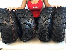 "1987-2006 YAMAHA BIG BEAR 350 MassFx 25"" ATV TIRES (SET 4) 25X8-12 25X10-12"