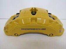 Porsche 970 Panamera 958 Cayenne Bremssattel Gelb PCCB Keramik Vorderachse links