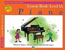 Alfred`s Basic Piano Course: Lesson Book, Level 1A [With CD] (Alfred`s Basic Pia