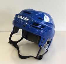 New CCM Resistance 100 NHL/AHL Pro Stock/Return small S ice hockey helmet blue