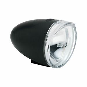Electra Bullet LED Retro Batterie Frontleuchte Nostalgie Batterielampe schwarz