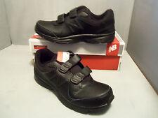 New Balance MW411 HK2 Men's Walking Shoes New NIB Black Hook and Loop size12D