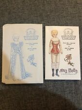 Vintage Souvenir My Dolly Paper Doll Judy Johnson Signed & Numbered 60/200