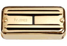 TV Jones Super'Tron Universal Mount Gold Neck Guitar Pickup STN-UVGLD