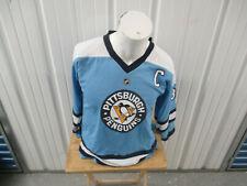 VINTAGE REEBOK NHL PITTSBURGH PENGUINS SIDNEY CROSBY L XL HOCKEY YOUTH JERSEY