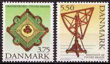 Denmark 1995 Mi 1110-1111 Tycho Brahe; Astronomer MNH