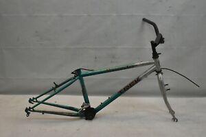 "1987 Trek Mountain Track 240 24"" Kids MTB Bike Frame Small 11"" Hardtail DAMAGED"