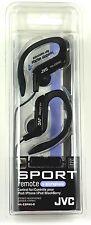 HAEBR80B JVC Sport-Clip In-Ear Headphones/Earphone with Microphone&Remote(Black)