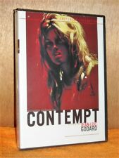 Contempt (DVD, 2002, 2-Disc Set Criterion Collection) french Brigette Bardot NEW