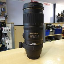 Used Sigma 70-200mm APO EX DG OS F2.8 HSM Lens in Nikon Fit  - 1 YEAR GTEE