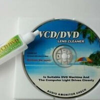 LT_ DVD VCD Player Laser  Lens Universal Cleaner Dry&Wet Disc Cleaning Kit