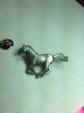 Horse Pin, Made Of Fine Pewter