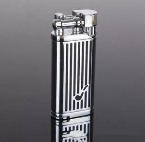 ( Lighter No gas)Luxury metal butane lighter,vintage Inflatable Lighter