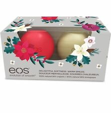 EOS 2016 Limited Edition Organic Smooth Sphere Lip Balm Holiday Edition Set