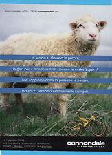 BICMON998-PUBBLICITA'/ADVERTISING-1998- CANNONDALE SUPER V 700 SL