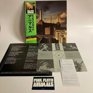 PINK FLOYD ANIMALS CBS/SONY 25AP 340 Japan STICKER OBI VINYL LP
