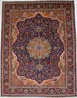 Vintage Rare Pictorial Floral Design 9'6X12'4 Handmade Oriental Rug Decor Carpet