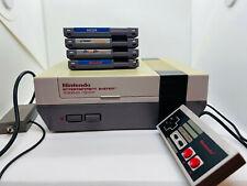 Nintendo NES - Nintendo Entertainment System DEFEKT 4 Spiele + Controller+ Kabel