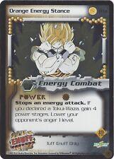 TCG 13 Dragon Ball Z: Orange Energy Stance #TF13 TUFF ENUFF Promo Foil