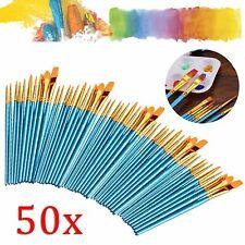 10 Pinsel-Set Grundierpinsel Flach 18mm Nylon Größe 2 VBS Großpackung