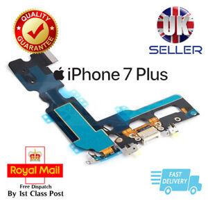White iPhone 7 Plus Charging Dock Port Flex Headphone jack Antenna Mic