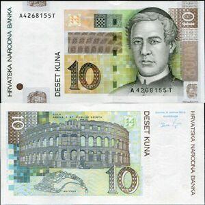 CROATIA 10 KUNA 2012 P 38 UNC