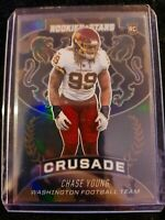 Chase Young 2020 Rookies and Stars Crusade Prizm TRUE One of One! 1/1 DROY