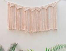 Handmade Macrame Wall Hanging Woven Wall Art Macrame Tapestry Boho Wall Decor Ho