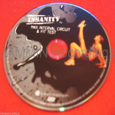 INSANITY - Max Interval Circuit & Fit Test - New DVD - 1 DVD