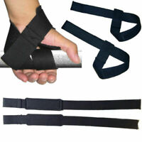 Weight Lifting Wrist Support Strap Wrap Gym Sport Bodybuilding Training Hot V4L0