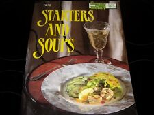 AUST WOMENS WEEKLY COOK BOOK STARTERS & SOUPS RECIPES SOUP