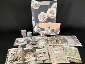 Scarlet Lime The Planner Society Scrapbooking Kit Pink Roses