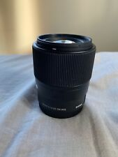 Sigma 30mm F1.4 DC DN Sony E mount (Scratched)