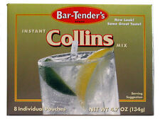 Bar-Tenders Collins Instant Cocktail Mix - 96 Pouches - Easy to Use Drink Flavor