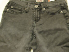 MUDD GRAY ACID WASHED CAPRI JEANS JR SZ 3 NWT
