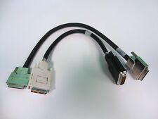 IBM Computer Chaining Cable Lot of 2 Cables P/N 00N6952 Used Condition
