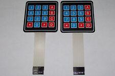 2pcs 4x4 Matrix Array 16 Key Membrane Switch Keypad Arduinoavrpic Usa Ship