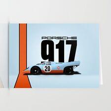 Gulf Porsche 917 1970 #20 24 h Le Mans Steve McQueen
